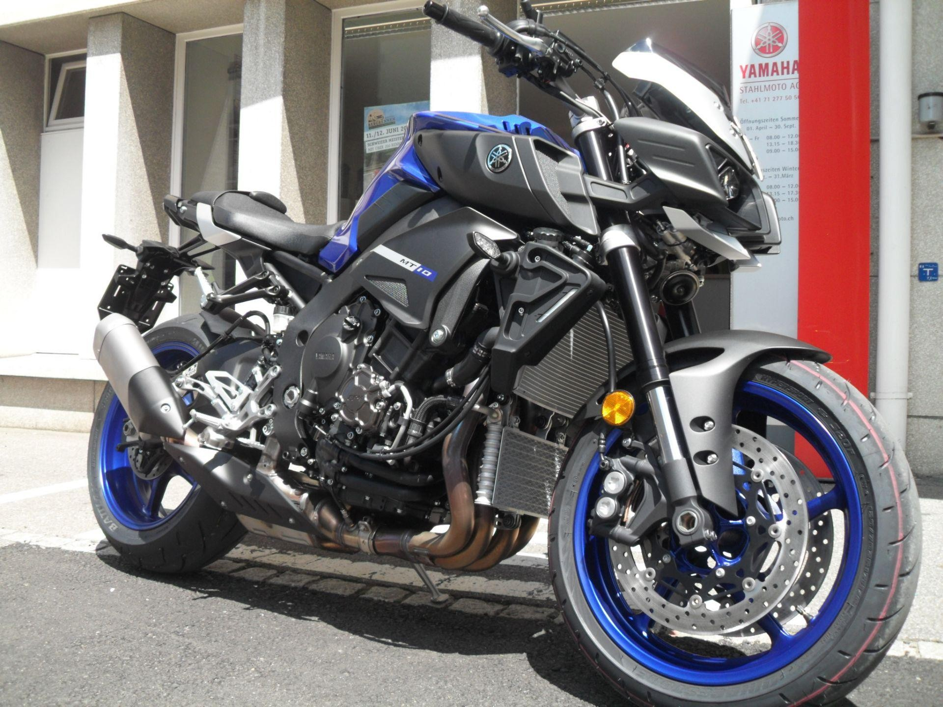 yamaha mt 10 abs das hammer teil stahlmoto ag st gallen. Black Bedroom Furniture Sets. Home Design Ideas