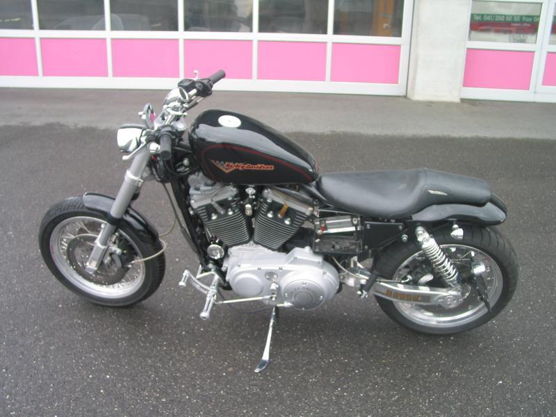 harley davidson xl 1200s sportster odermatt motos luzern gmbh littau luzern occasion. Black Bedroom Furniture Sets. Home Design Ideas