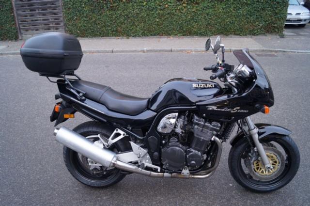suzuki gsf 1200 s bandit scherrer motos steckborn occasions. Black Bedroom Furniture Sets. Home Design Ideas