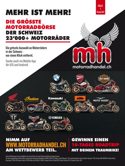 Motorradhandel.ch Roadtrip 2017 gewinnen