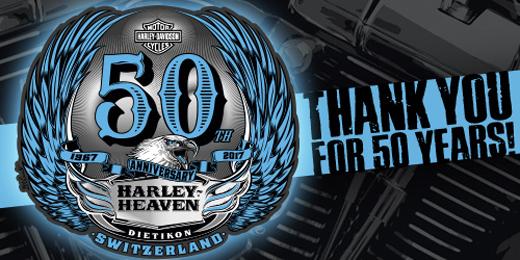 Harley-Heaven 50th Anniversary