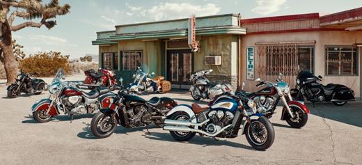 Indian Legenden auf Rädern