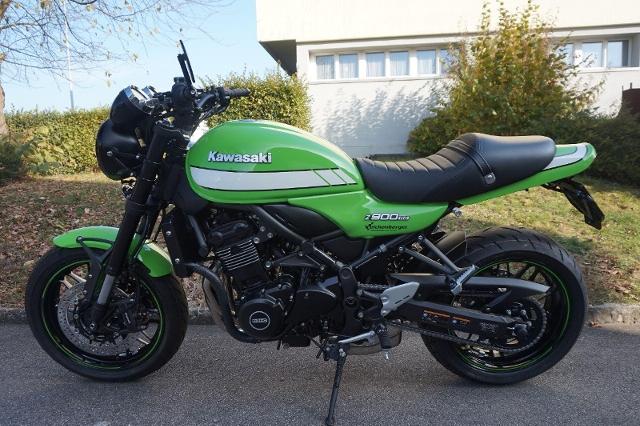 Acheter une moto KAWASAKI Z 900 RS ABS Vintage Lime Green neuve