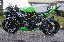 Louer moto KAWASAKI ZX-6R Ninja (Sport)