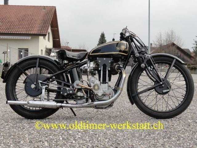 motorrad oldtimer kaufen sunbeam tt oldtimer. Black Bedroom Furniture Sets. Home Design Ideas