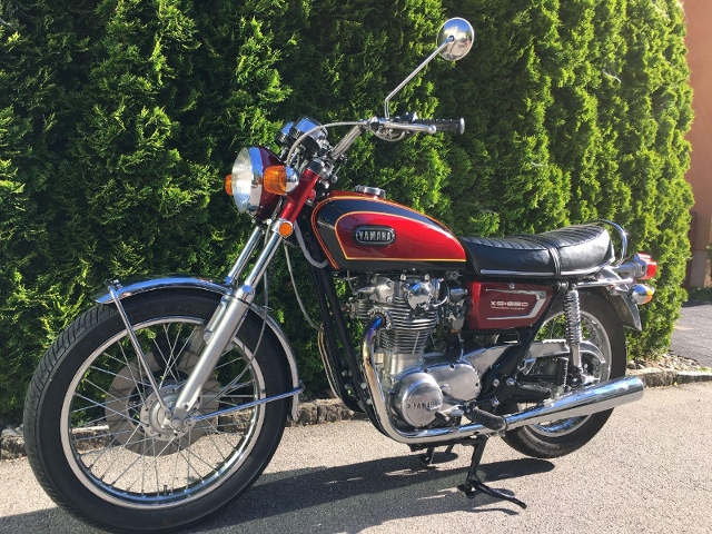 Motorrad kaufen YAMAHA XS650 Oldtimer