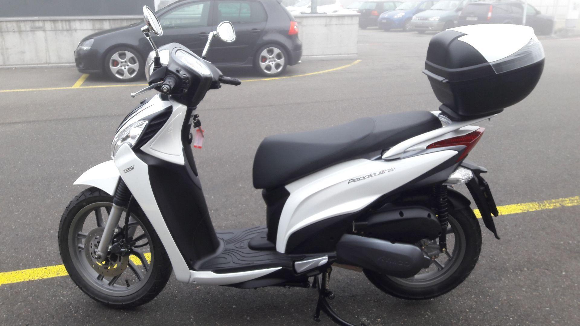 Motorrad Mieten & Roller Mieten KYMCO People 125 One