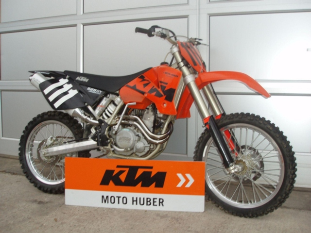 moto occasions acheter ktm cross 525 sx moto huber d llikon. Black Bedroom Furniture Sets. Home Design Ideas