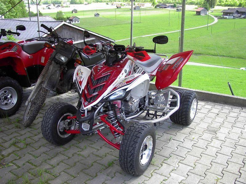 motorrad occasion kaufen yamaha quad yfm 700 r raptor. Black Bedroom Furniture Sets. Home Design Ideas