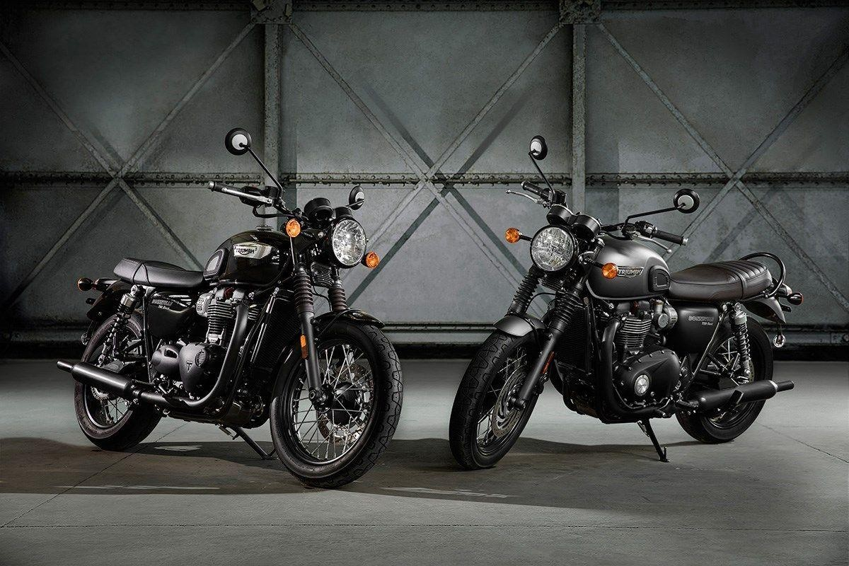 Buy Motorbike New Vehiclebike Triumph Bonneville T120 1200 Black