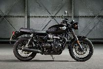 Buy a bike TRIUMPH Bonneville T120 1200 Black ABS Neufahrzeug Retro