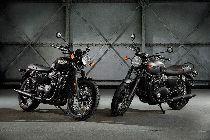 Töff kaufen TRIUMPH Bonneville T120 1200 Black ABS Retro