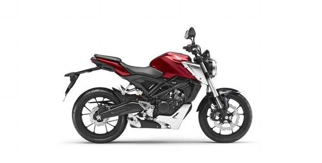 Motorrad kaufen HONDA CB 125 R Neufahrzeug