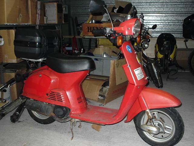 Motorrad kaufen HONDA AB07 scooter 50 Oldtimer