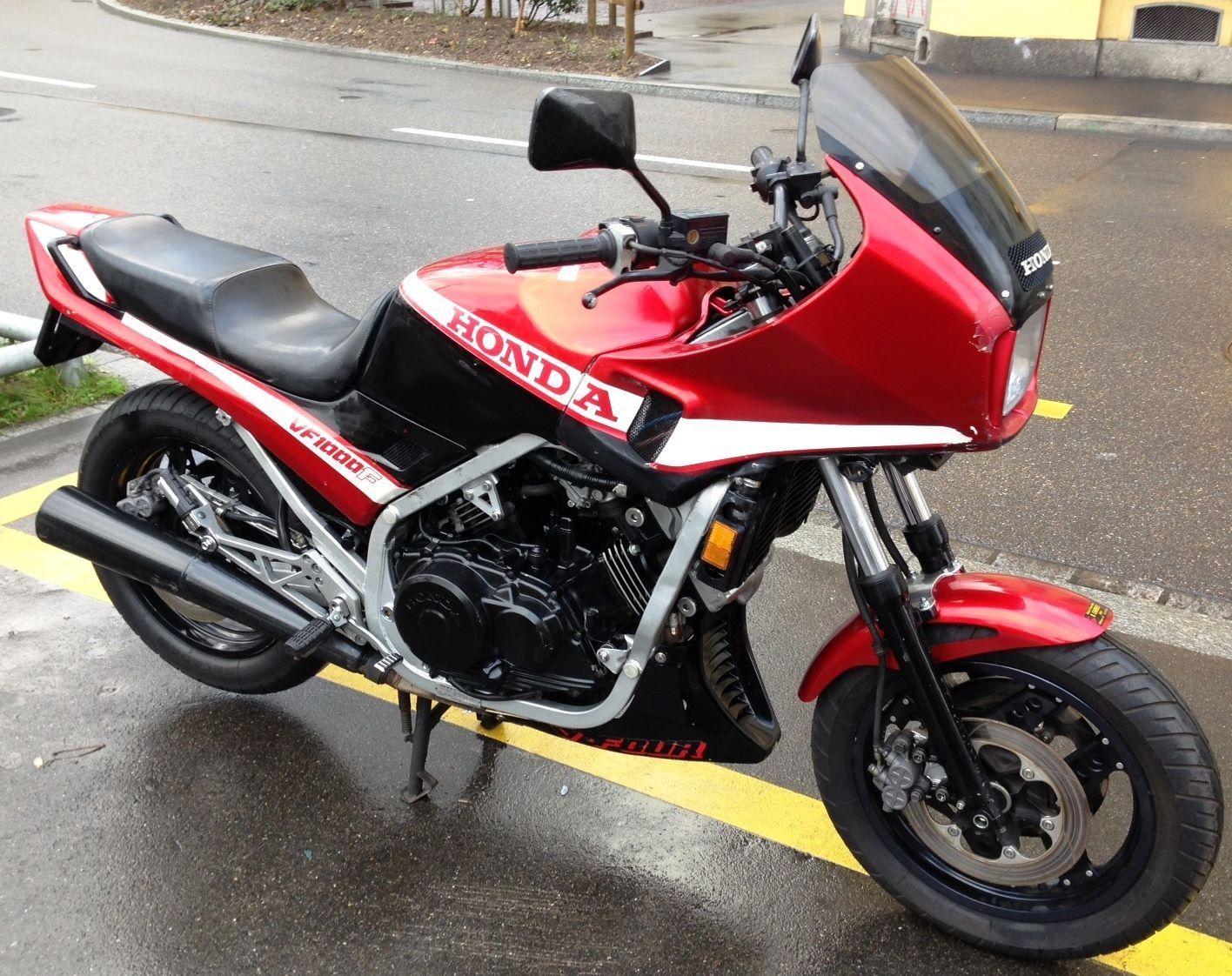 moto occasions acheter honda vf 1000 f cahenzli motos z rich. Black Bedroom Furniture Sets. Home Design Ideas
