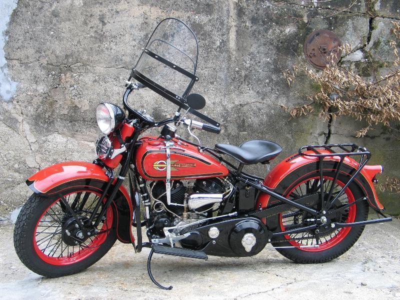 motorrad oldtimer kaufen harley davidson vlh 80 1340 flathead l chinger classic motors ag nieder nz. Black Bedroom Furniture Sets. Home Design Ideas