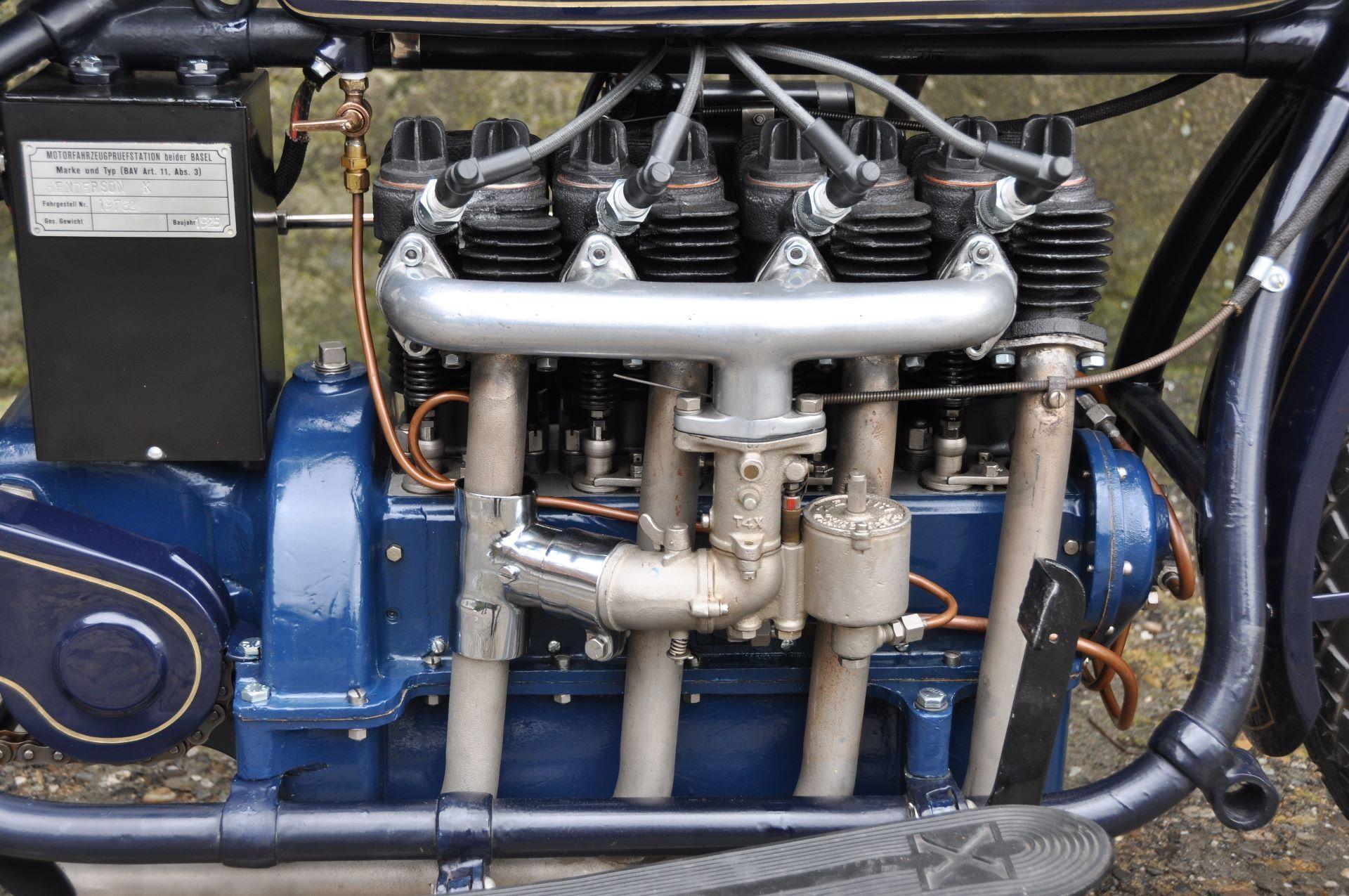 Motorrad Oldtimer kaufen HENDERSON Four DeLuxe Model K Lüchinger ...