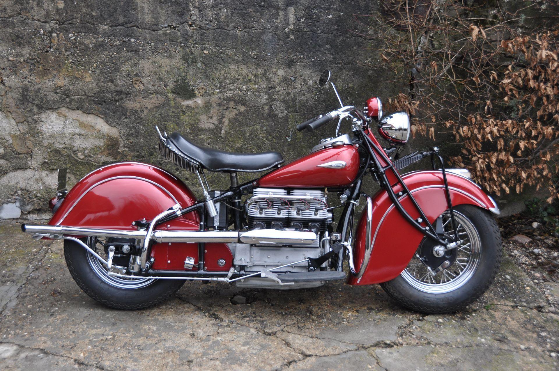 motorrad oldtimer kaufen indian four 4 zylinder l chinger classic motors ag nieder nz id 2695780. Black Bedroom Furniture Sets. Home Design Ideas