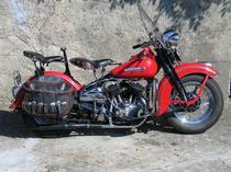 Motorrad kaufen Oldtimer HARLEY-DAVIDSON WL 750 FLATHEAD (touring)