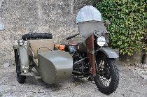 Motorrad kaufen Oldtimer HARLEY-DAVIDSON WLA Military (touring)