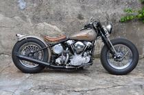 Motorrad kaufen Oldtimer HARLEY-DAVIDSON KNUCKLEHEAD BOBBER (custom)