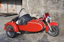 Motorrad kaufen Oldtimer HARLEY-DAVIDSON FLH EARLY SHOVEL GESPANN (gespann)