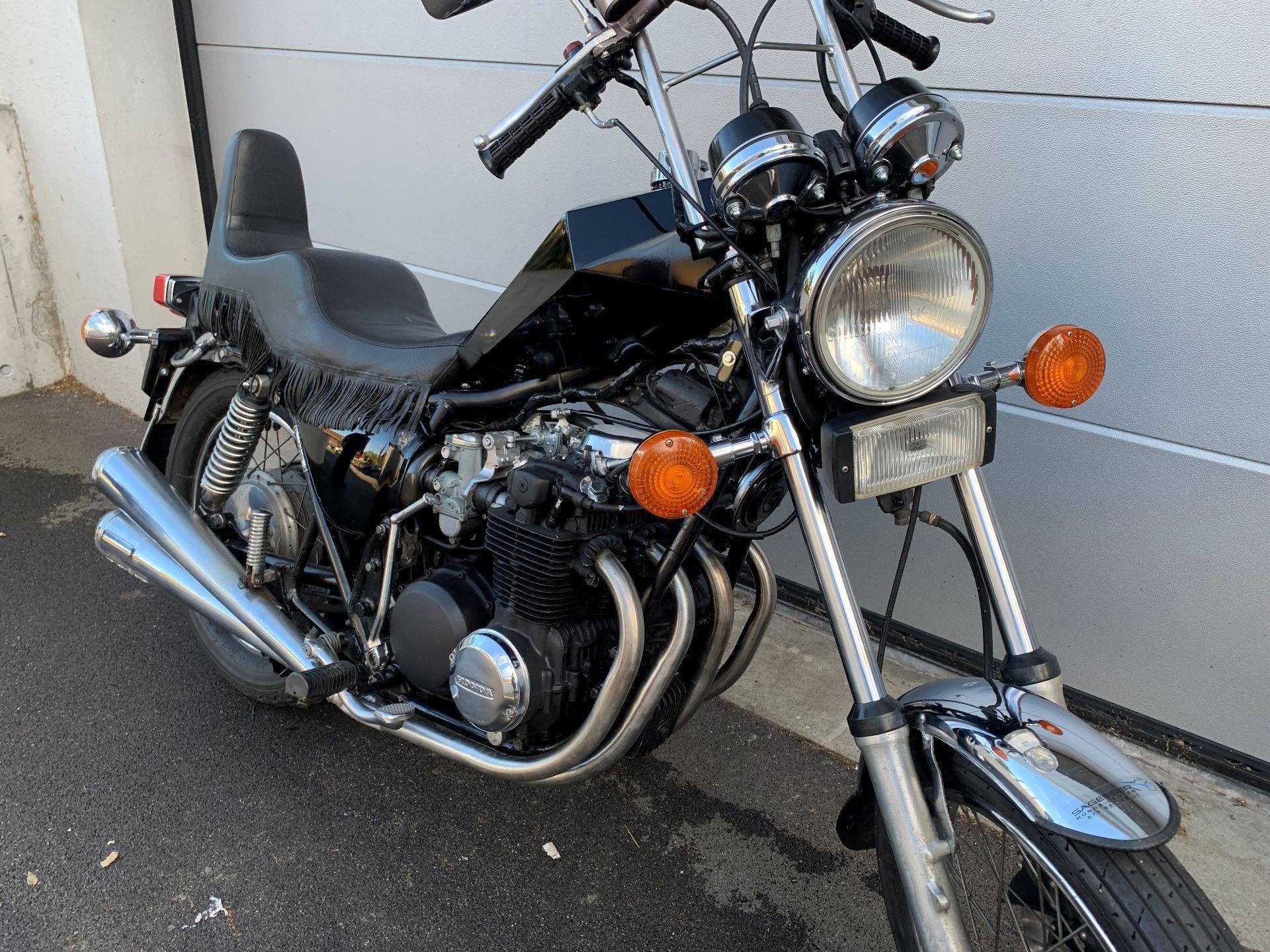 Motorrad Oldtimer kaufen HONDA CB550K CHOPPER Sägesser Honda
