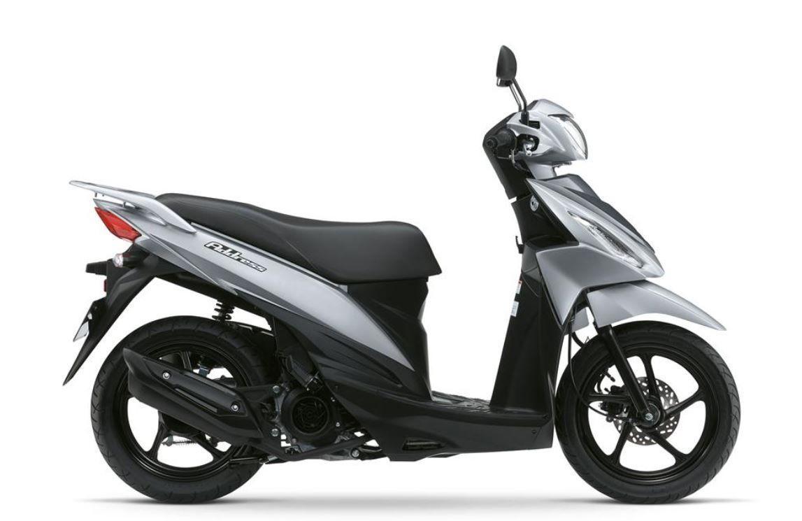 Motorrad Mieten & Roller Mieten SUZUKI UK 110