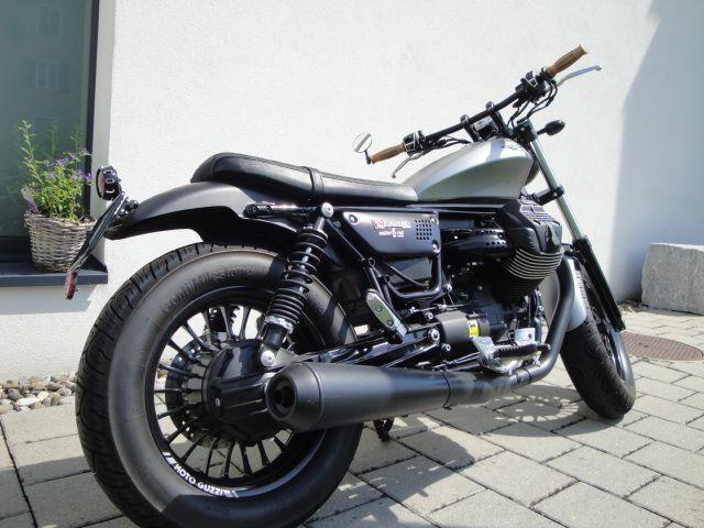 motorrad occasion kaufen moto guzzi v9 bobber abs 2rad m ller emmen. Black Bedroom Furniture Sets. Home Design Ideas