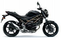 Motorrad Mieten & Roller Mieten SUZUKI SV 650 A ABS (Naked)