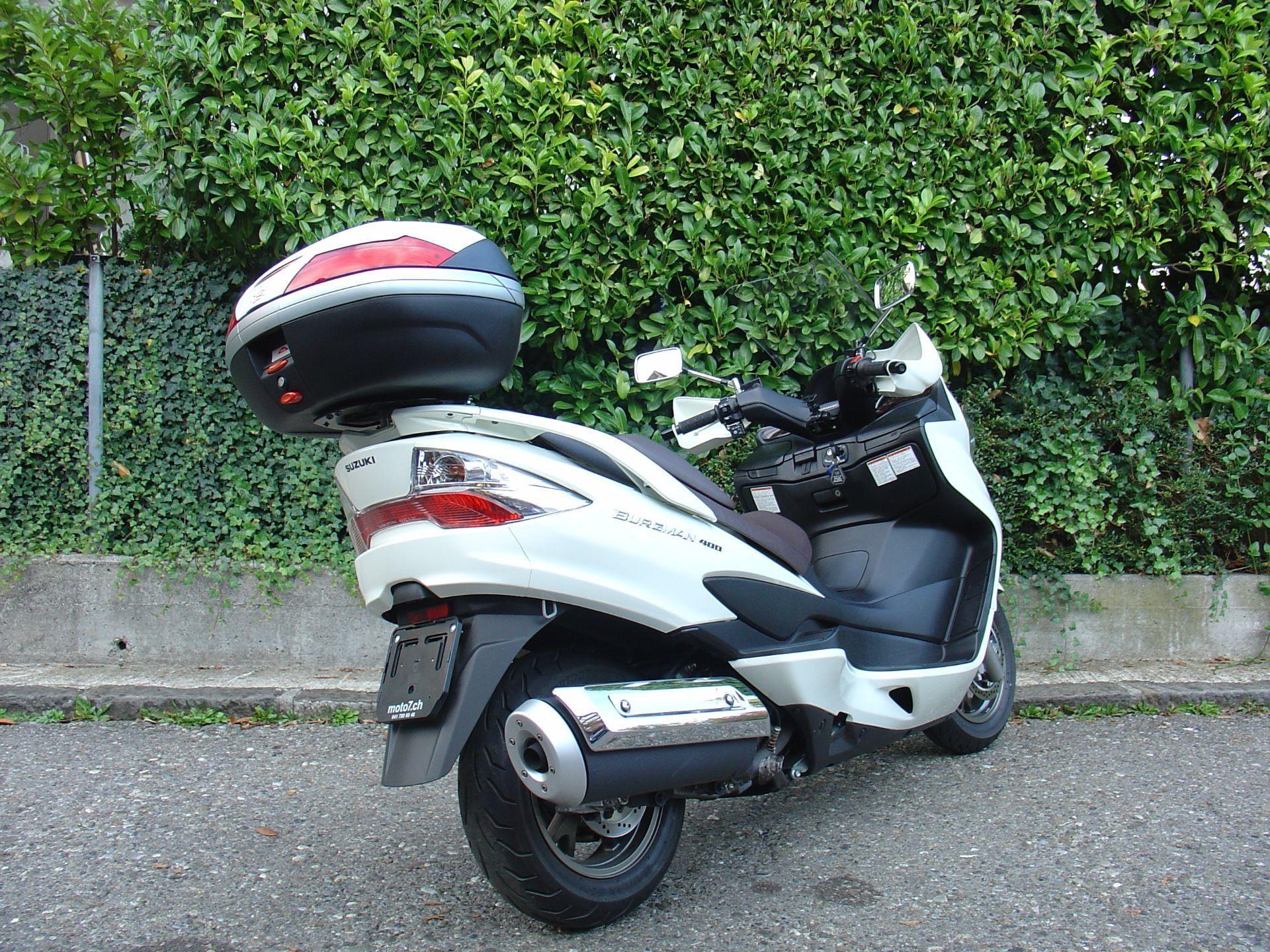 motorrad occasion kaufen suzuki an 400 burgman za abs moto 7 ag cham. Black Bedroom Furniture Sets. Home Design Ideas