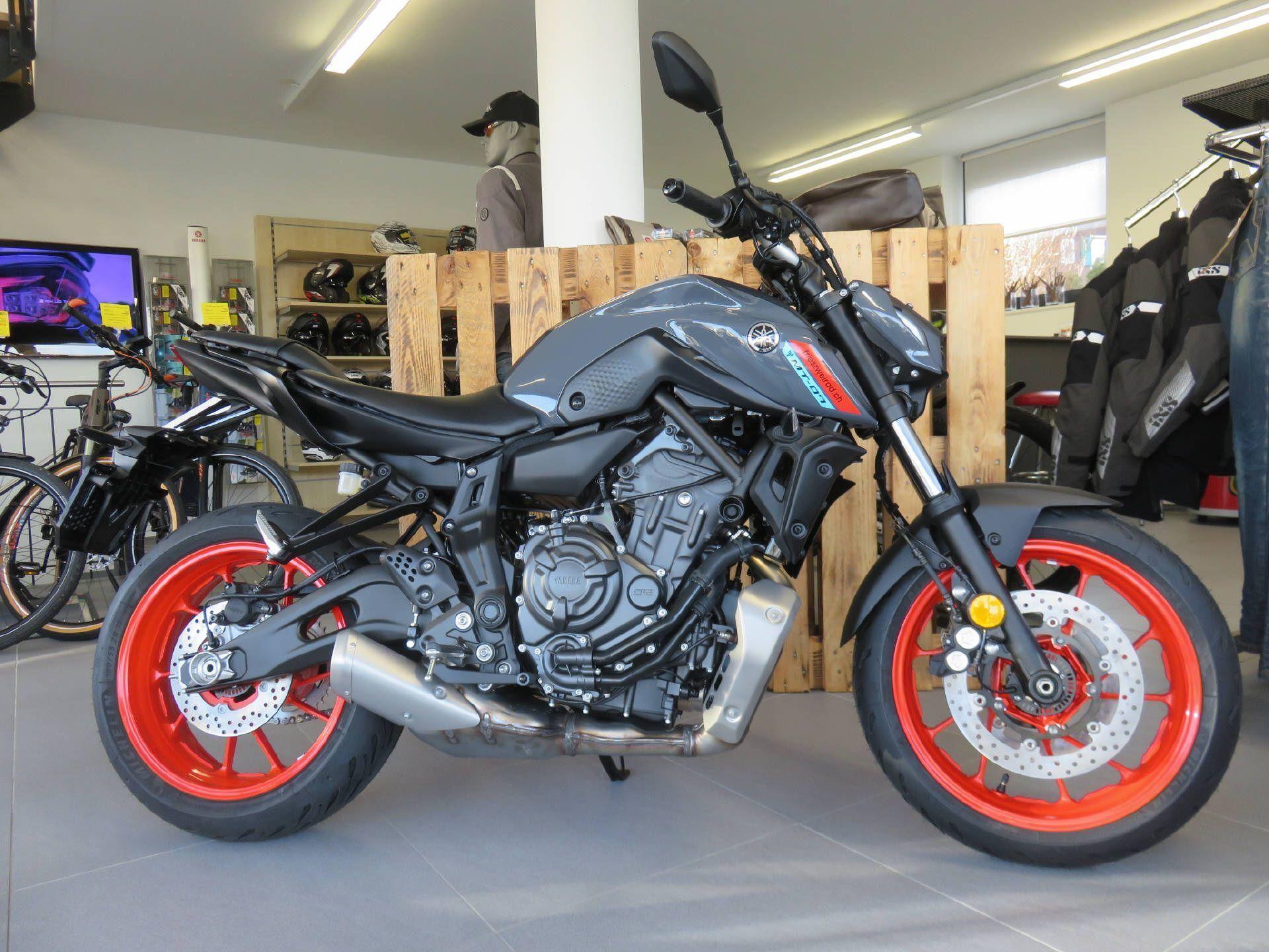 Motorrad Mieten & Roller Mieten YAMAHA MT 07 ABS