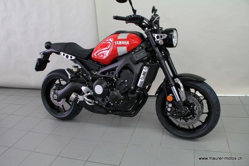 Motorrad Mieten YAMAHA XSR 900 ABS Maurer Motos AG Aarau Rohr