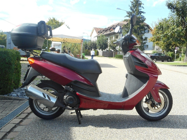 Motorrad kaufen DAELIM NS 125 Occasion
