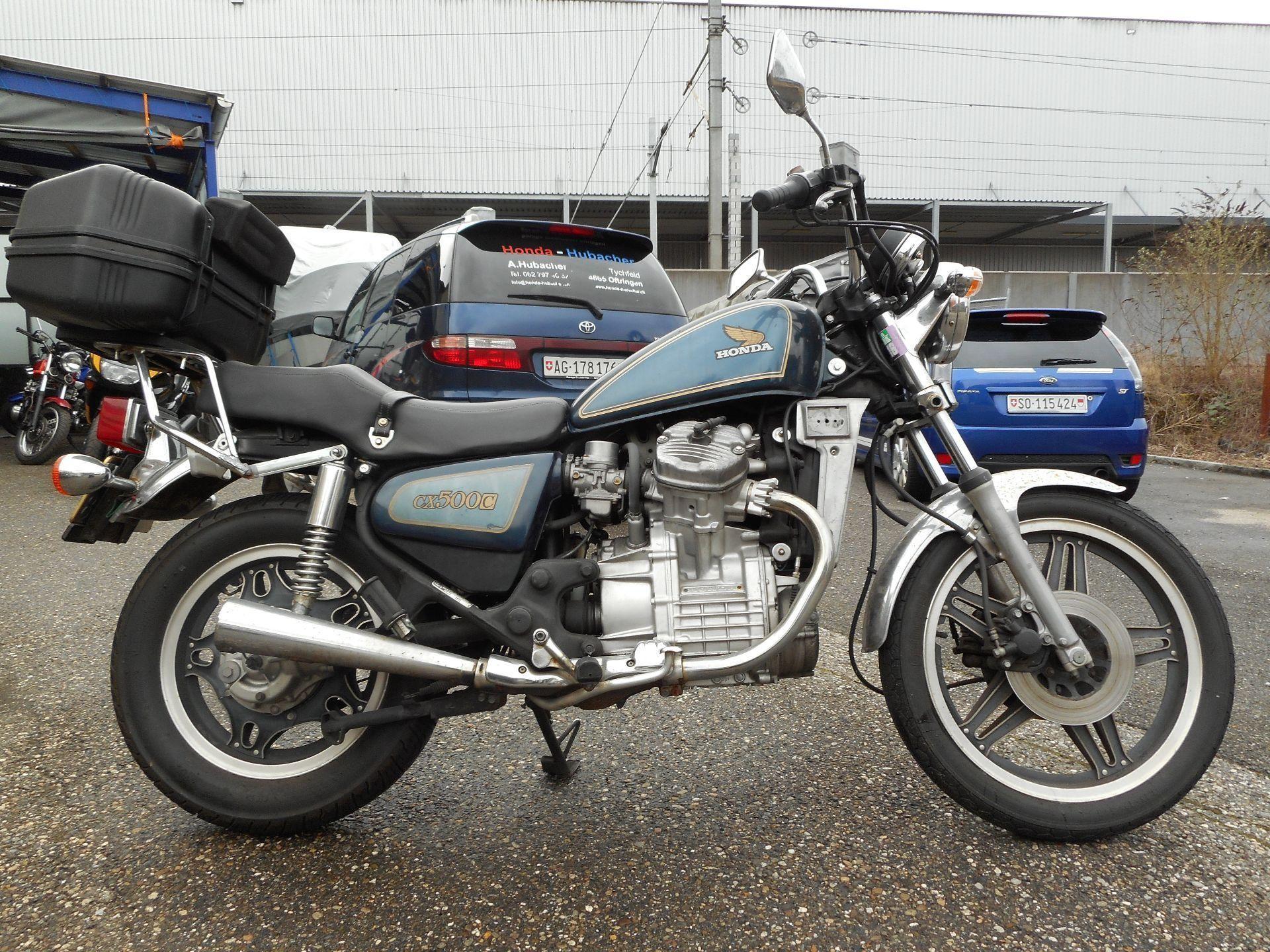 Motorrad Mieten & Roller Mieten HONDA Spezial CX 500 C