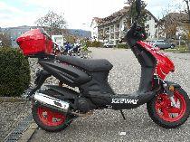 Motorrad kaufen Occasion KEEWAY F-ACT 50 (roller)