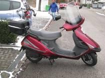 Motorrad Mieten & Roller Mieten HONDA CH 125 Spacy (Roller)