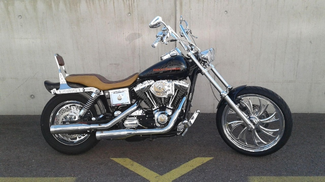 Motorrad kaufen HARLEY-DAVIDSON FXDL 1450 Dyna Low Rider Occasion