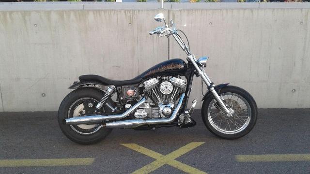 Motorrad kaufen HARLEY-DAVIDSON FXD 1450 Dyna Super Glide Occasion