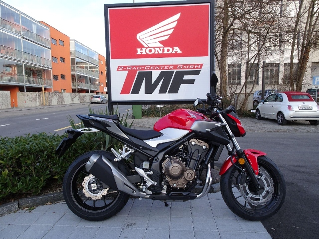Acheter une moto HONDA CB 500 FA Démonstration