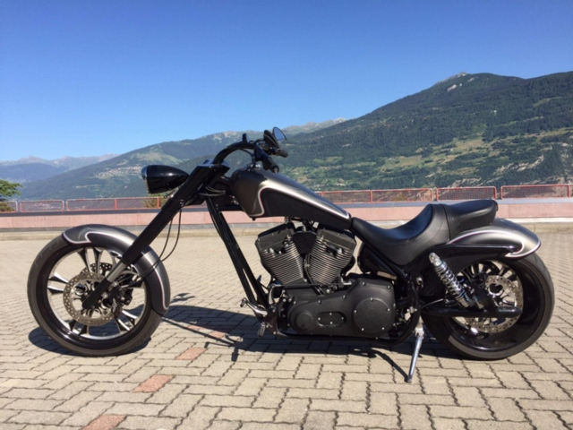 Motorrad kaufen HARLEY-DAVIDSON Spezial Ness Speedliner Occasion