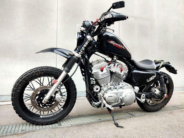 Motorrad kaufen HARLEY-DAVIDSON XL 1200 C Sportster Custom Occasion