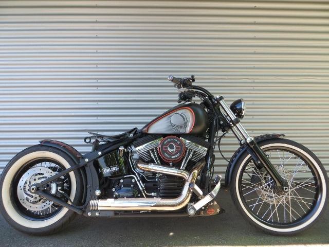 Motorrad kaufen HARLEY-DAVIDSON FXS 1585 Softail Blackline ABS Spezial Occasion