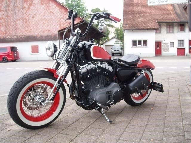 Motorrad kaufen HARLEY-DAVIDSON XL 1200 N Sportster Nightster Bobber Occasion