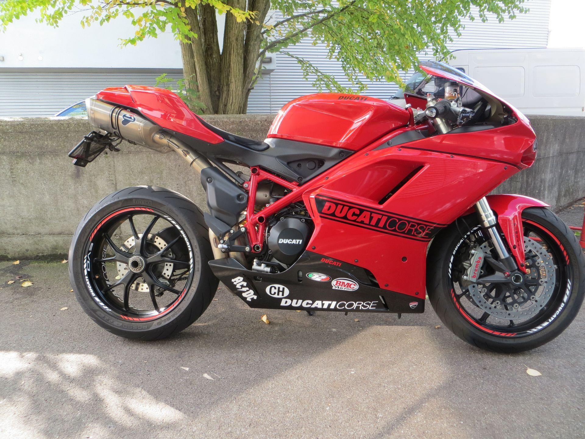 buy motorbike pre owned ducati 848 superbike evo roli s motostyling gmbh schlieren. Black Bedroom Furniture Sets. Home Design Ideas