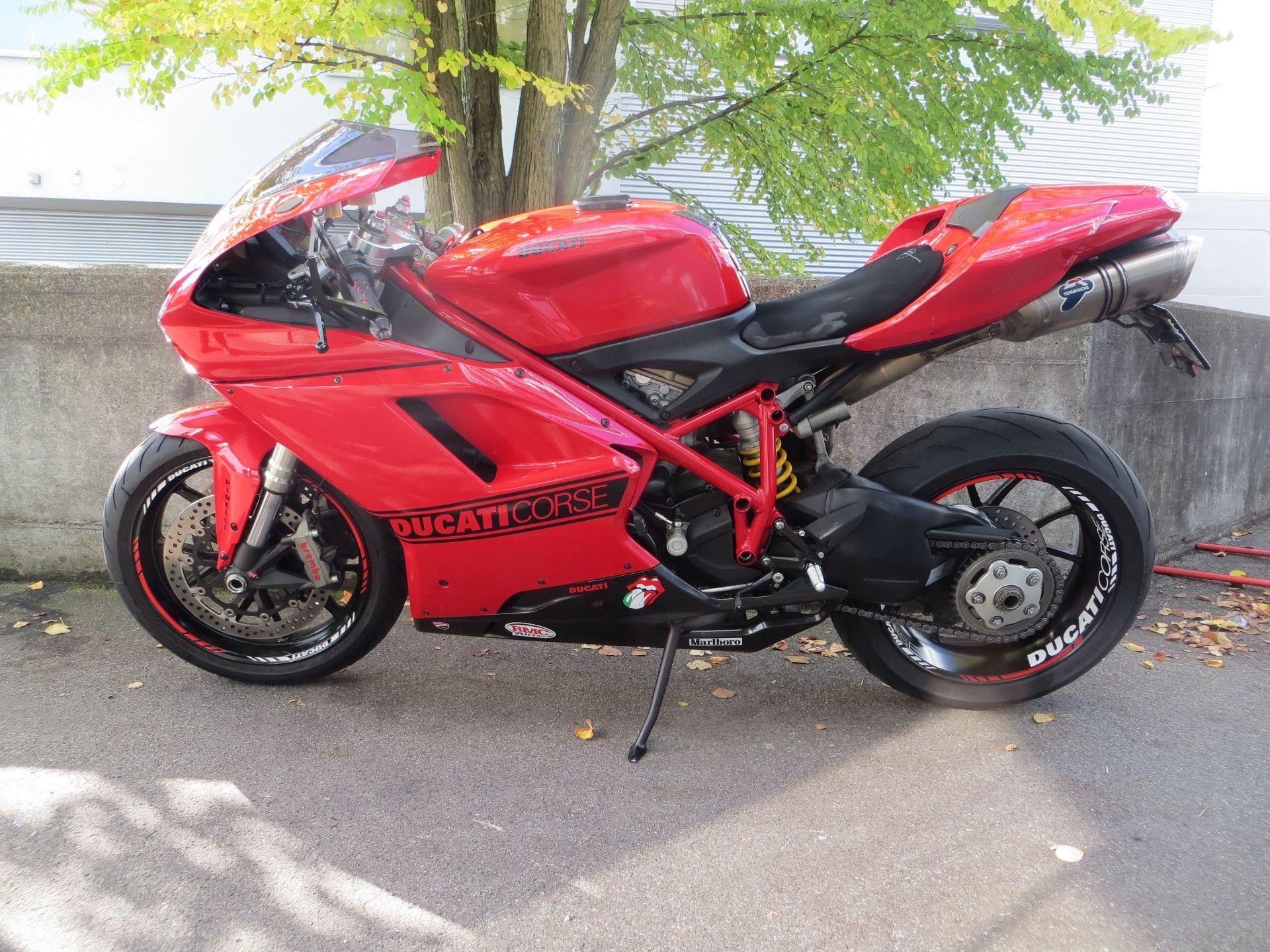 motorrad occasion kaufen ducati 848 superbike evo roli s motostyling gmbh schlieren. Black Bedroom Furniture Sets. Home Design Ideas