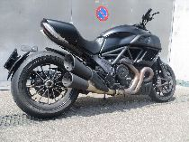 Töff kaufen DUCATI 1198 Diavel Carbon ABS schwarz matt Naked