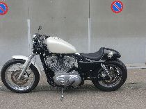 Motorrad kaufen Occasion HARLEY-DAVIDSON XL 883 L Sportster Low (custom)