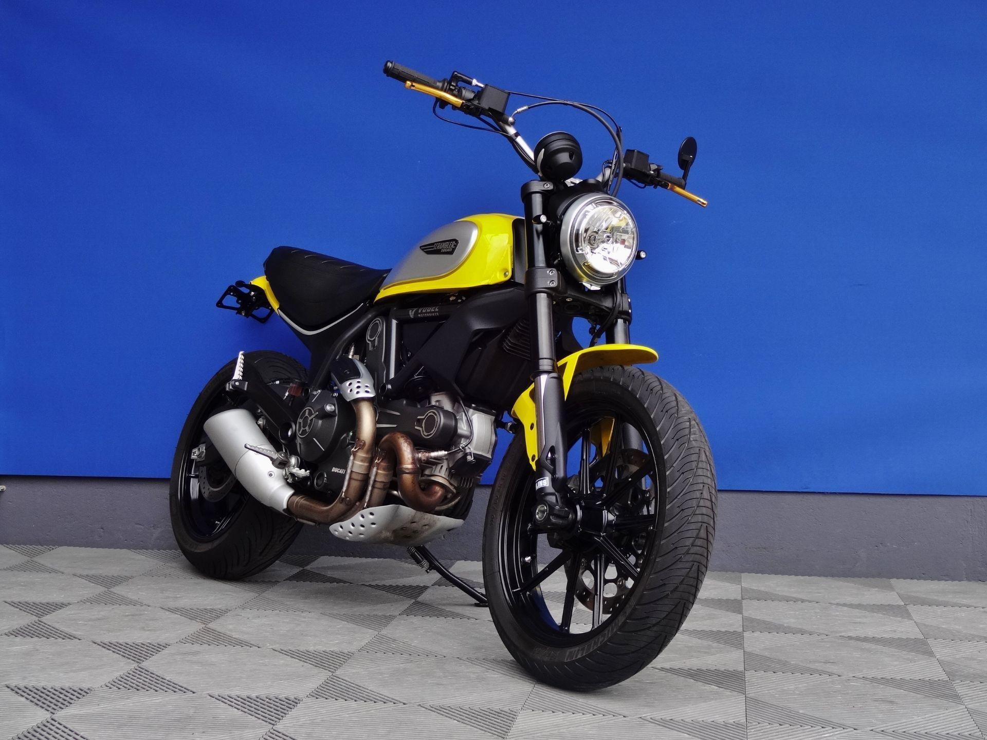 Ducati Scrambler Komfortsitzbank Motorrad Bild Idee