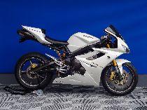 Töff kaufen TRIUMPH Daytona 675 White Pearl Sport